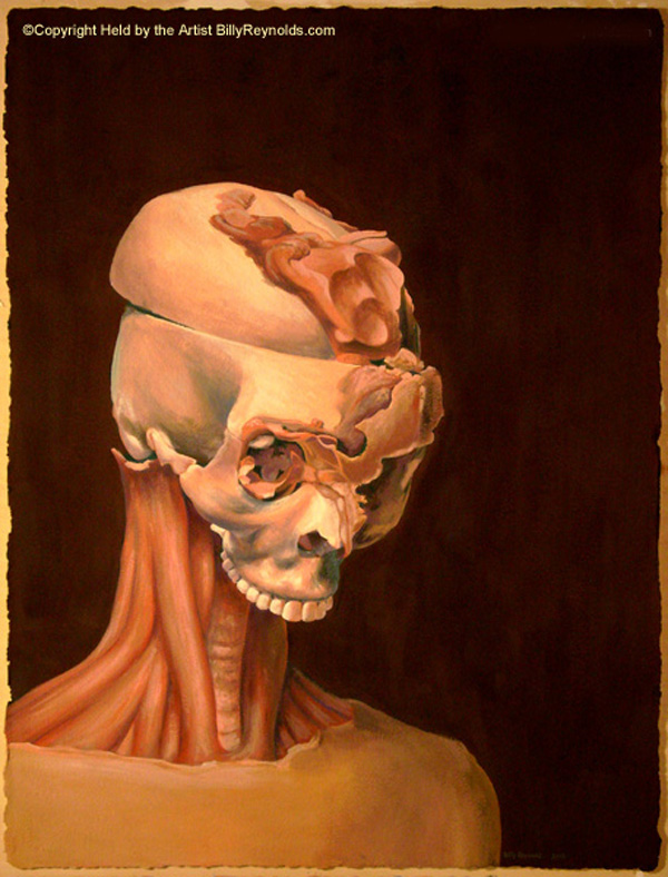 """""""VOID"""" Skull"""